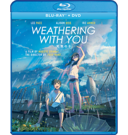 GKids/New Video Group/Eleven Arts Weathering With You Blu-Ray/DVD