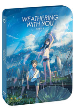 GKids/New Video Group/Eleven Arts Weathering With You Steelbook Blu-Ray/DVD