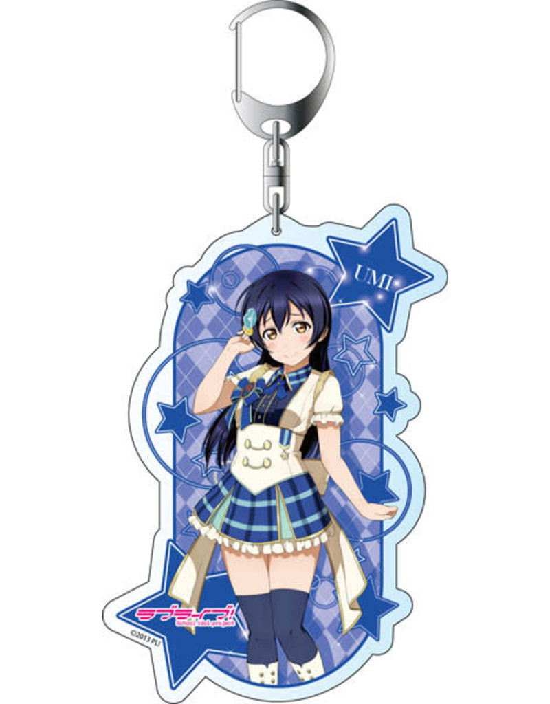Contents Seed Love Live! All-Stars µ's Acrylic Deka Keychain