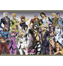 Medicos JoJo's Bizarre Adventure Golden Wind AGF2019 New Illustration B2 Wall Scroll