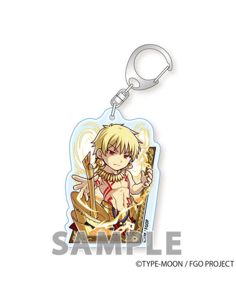 Aquamarine Fate/Grand Order Keychain Tobidastyle