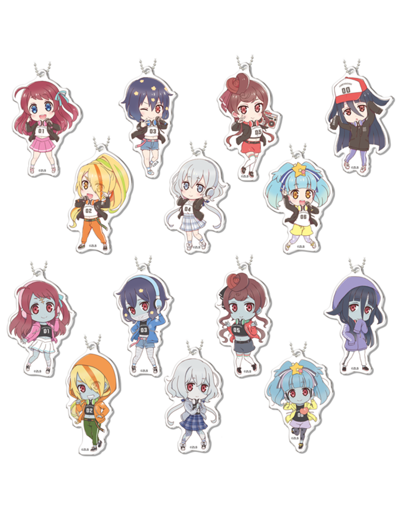Zombie Land Saga Don Quijote Collab Sports Vers.  Acrylic Keychain
