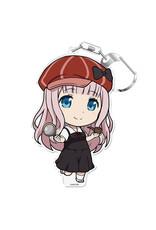 Azumaker Chika Fujiwara Kaguya-sama Detective Vers. Love Is War Deka Keychain Azumaker