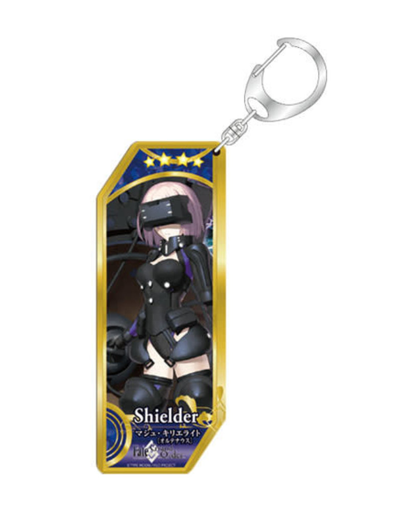 Bellfine Fate/Grand Order Vertical Keychain Shielder Mash Kyrielite Ortenaus
