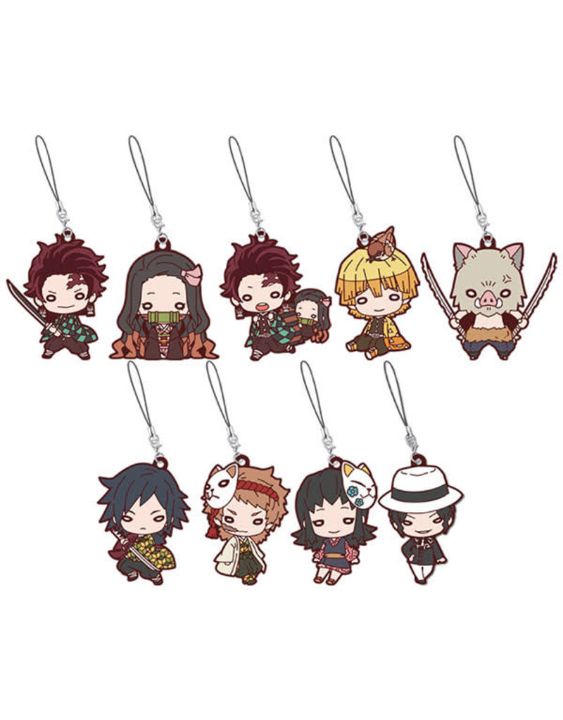 Demon Slayer: Kimetsu no Yaiba Nitotan Rubber Strap