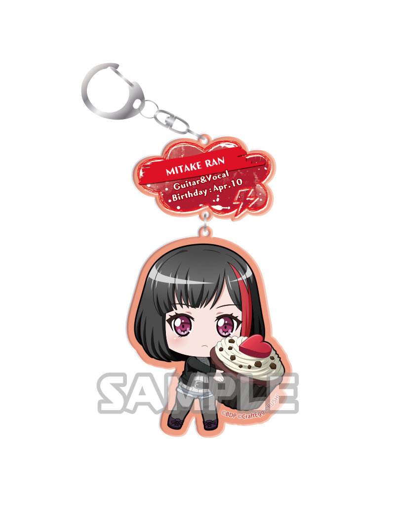 Bushiroad BanG Dream AkibaFes Keychain