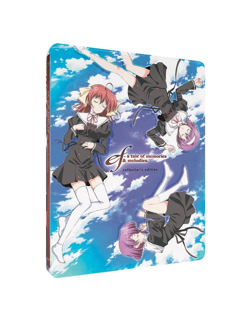 Sentai Filmworks Ef A Tale Of Memories and Melodies Steelbook Blu-Ray