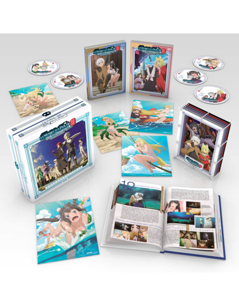 Sentai Filmworks Is It Wrong To Try To Pick Up Girls In A Dungeon?! Season 2 Premium Box Set Blu-Ray/DVD