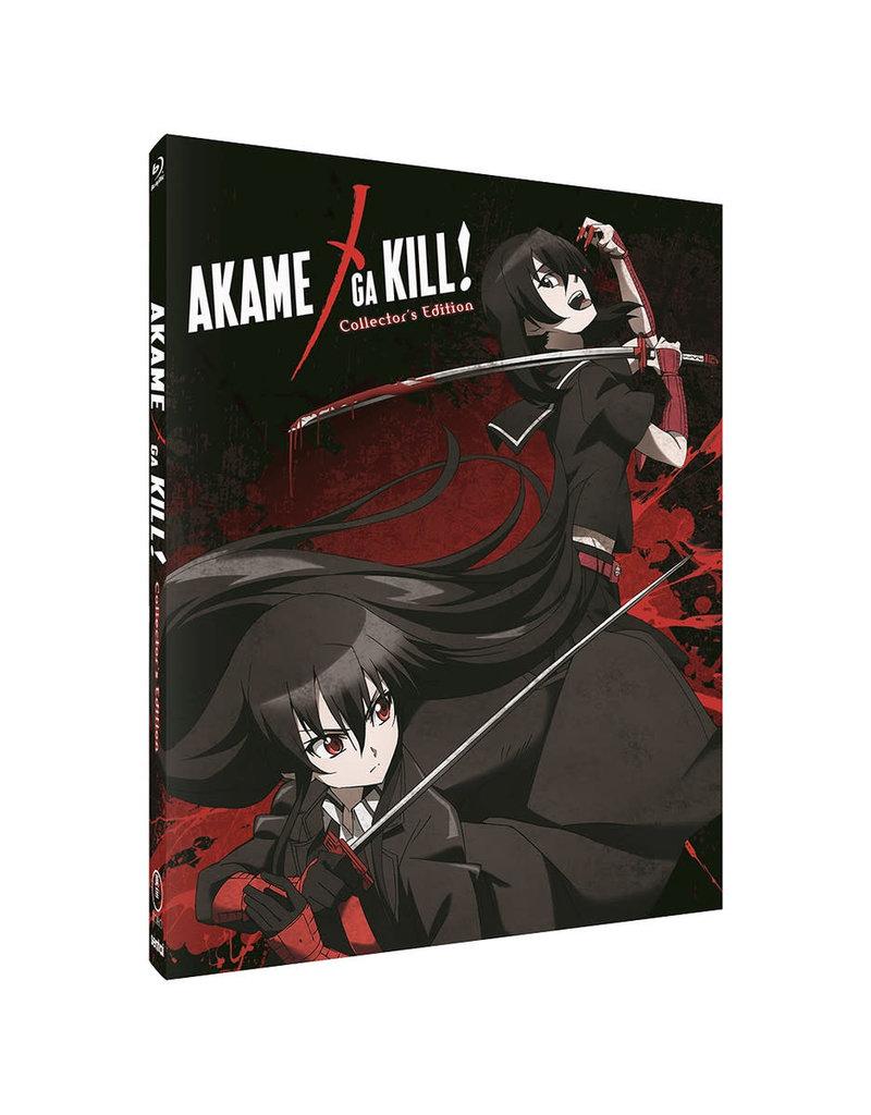Sentai Filmworks Akame Ga Kill Complete Collection Steelbook Blu-Ray