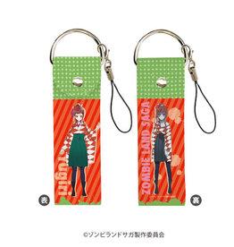 Zombie Land Saga Deka Leather Strap Yugiri