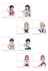 Rent a Girlfriend Acrylic Photo Frame Keychain Hifumi