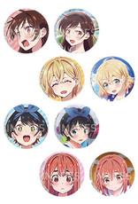 Rent A Girlfriend Kira Can Badge Hifumi