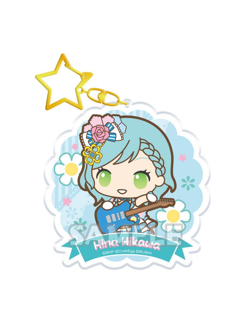 Bushiroad BanG Dream x Sanrio Keychain (Pastel Palettes)