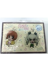 Bandai Namco Girls Und Panzer das Finale Acrylic Charm Set Miho/Anchovy