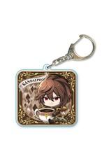 Granblue Fantasy Gyugyutto Choi Deka Acrylic Keychain