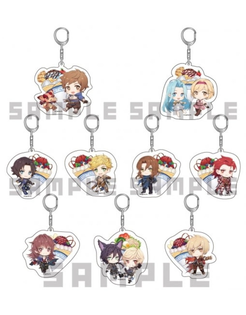 Granblue Fantasy Chara-Cre Shop Keychain Vol. 2