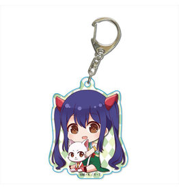 Fairy Tail Gyugyutto Keychain Wendy Marvell