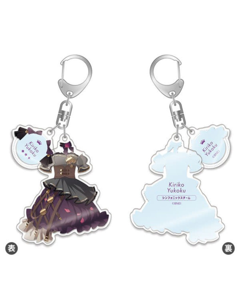 Gift Idolm@ster Shiny Colors L' Antica Outfit Keychain