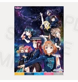 Aqours 6th LoveLive! Dome Tour 2020 Mirai Ticket B2 Poster