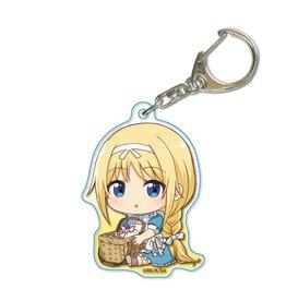 Sword Art Online Alicization Gyugyutto Acrylic Keychain Alice Age 11