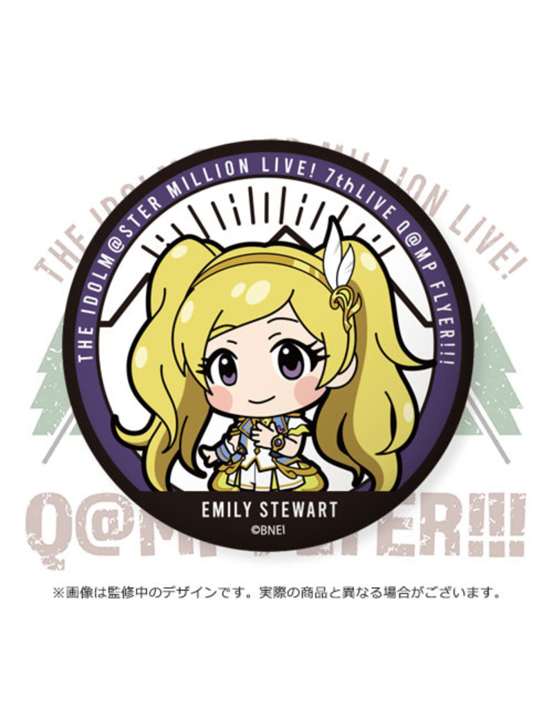 Bandai Namco Idolm@ster Million Live 7th Princess Stars Can Badge