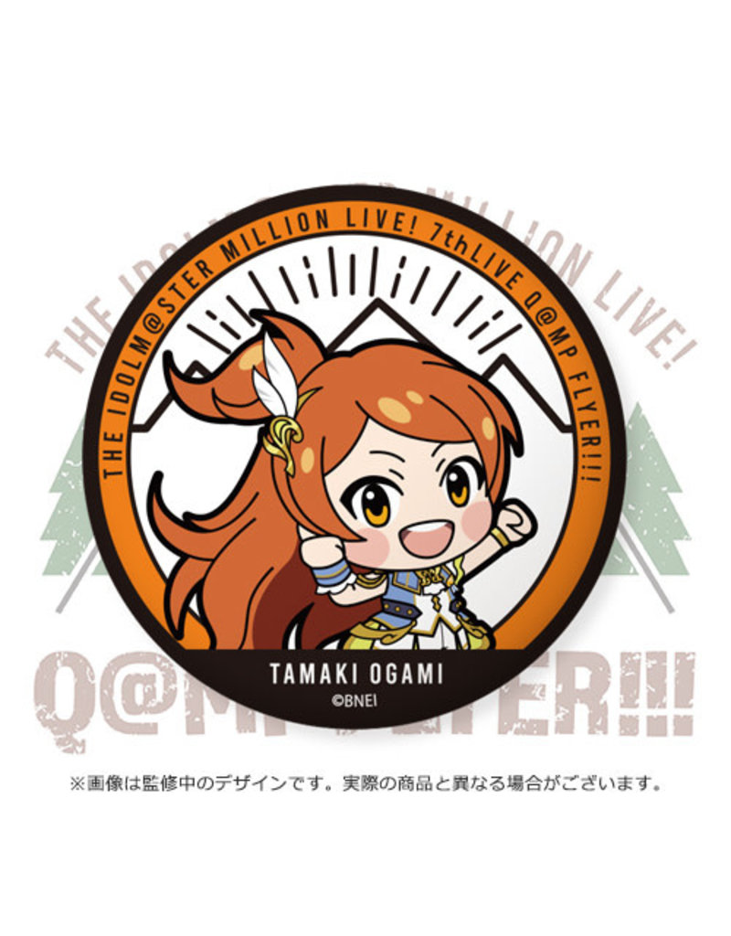 Bandai Namco Idolm@ster Million Live 7th Angel Stars Can Badge
