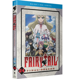 Funimation Entertainment Fairy Tail Final Season Part 24 Blu-Ray/DVD