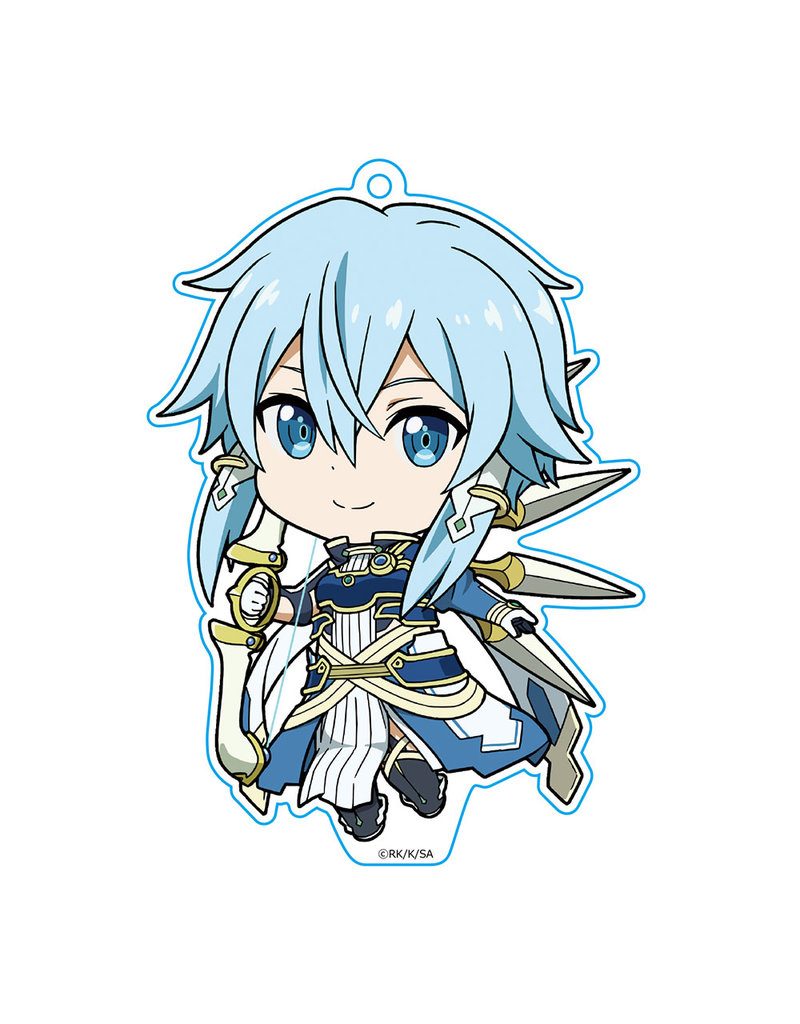 Azumaker Sinon Sun Goddess Solus Sword Art Online Deka Keychain Azumaker