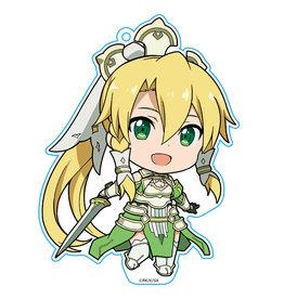Azumaker Leafa Earth Goddess Teraria  Sword Art Online Deka Keychain Azumaker