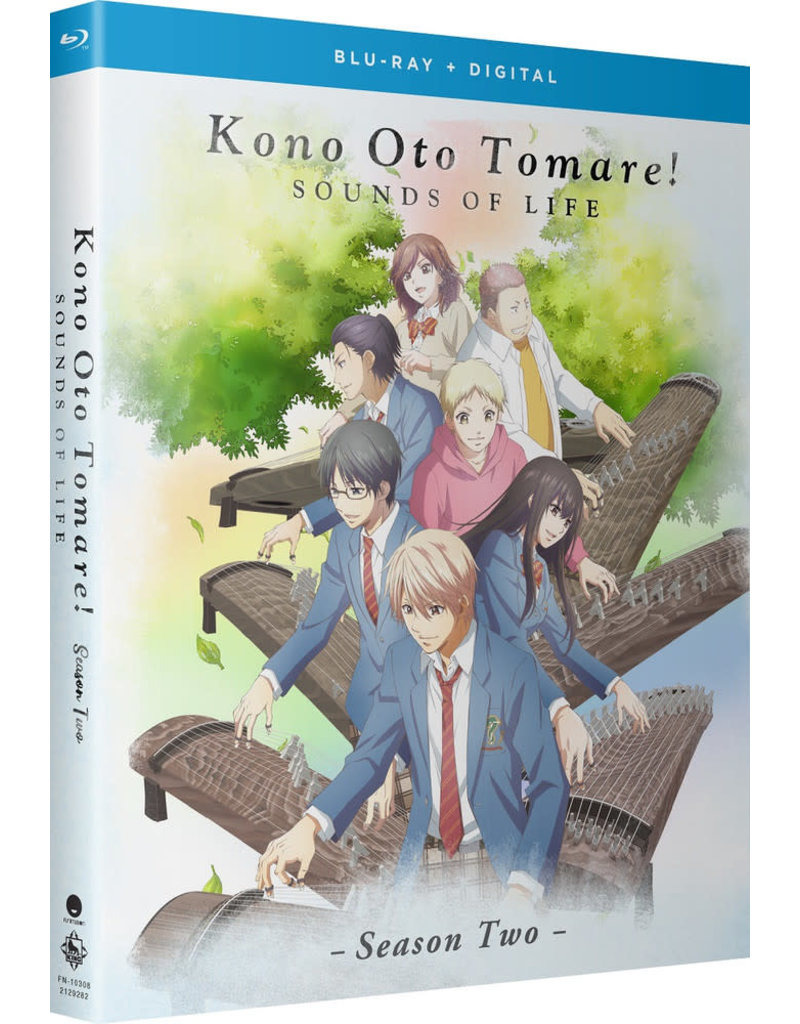 Funimation Entertainment Kono Oto Tomare! Sounds Of Life Season 2 Blu-Ray