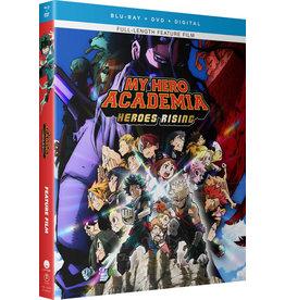 Funimation Entertainment My Hero Academia Heroes Rising Blu-Ray/DVD