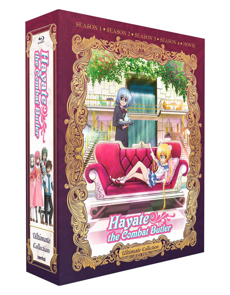 Sentai Filmworks Hayate The Combat Butler Ultimate Collection Blu-Ray