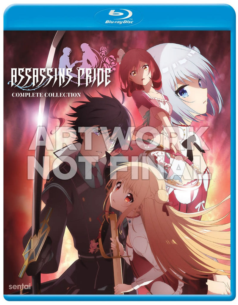 Sentai Filmworks Assassins Pride Blu-Ray