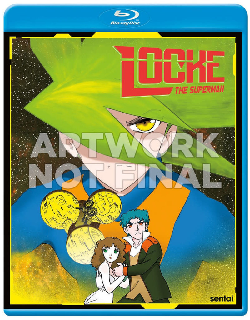 Sentai Filmworks Locke The Superman Blu-Ray