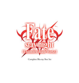 Aniplex of America Inc Fate/Stay Night Unlimited Blade Works Complete Box Set Blu-Ray