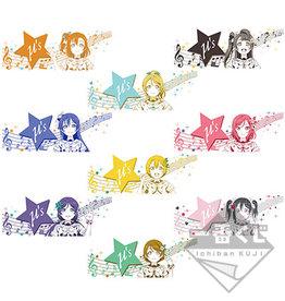 Bandai Love Live! 9th Anniversary Ichibankuji Towel μ's
