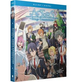 Funimation Entertainment Actors Songs Connection Blu-ray
