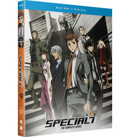 Funimation Entertainment Special 7 Special Crime Investigation Unit Blu-ray
