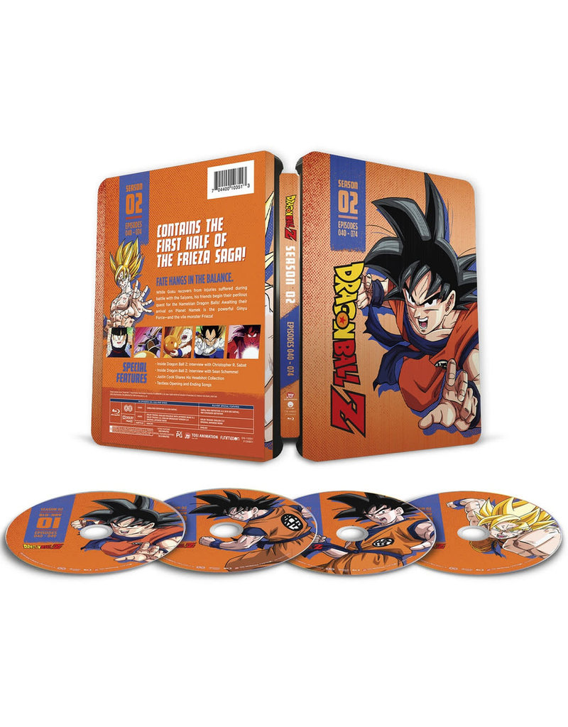 Funimation Entertainment Dragon Ball Z Season 2 Steelbook Blu-ray