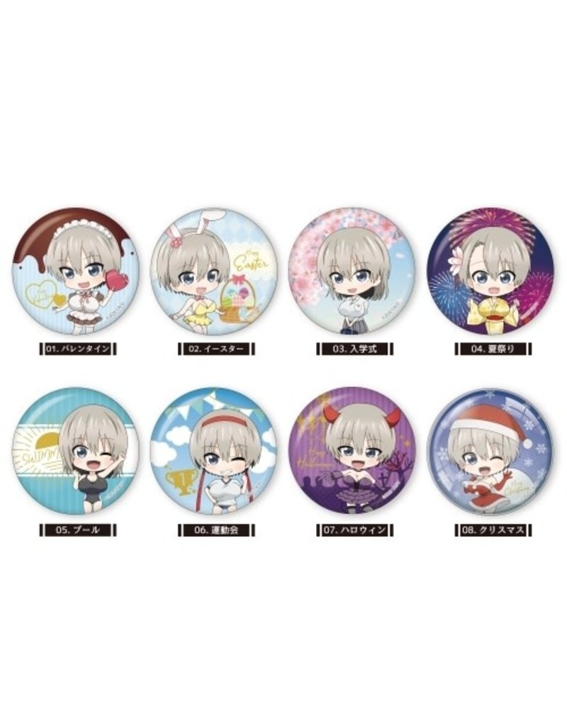 Uzaki-chan Wants to Hang Out! Can Badge Vol.1