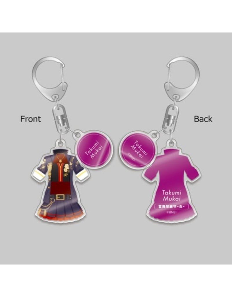 Gift Idolm@ster Cinderella Girls Enjin Outfit Keychain