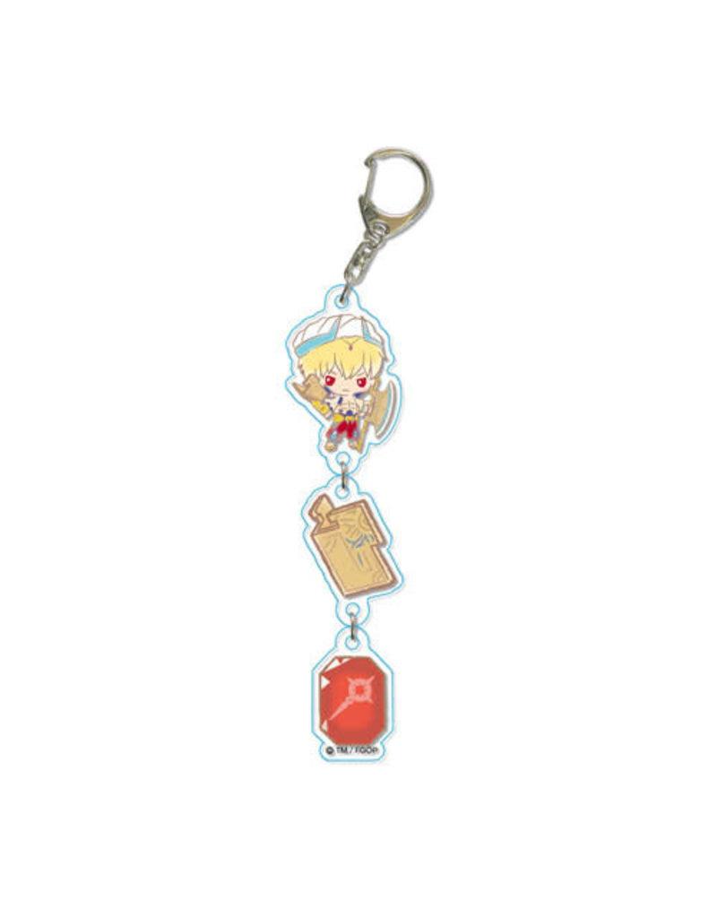 Fate Grand Order 3-Ren Keychain Sanrio
