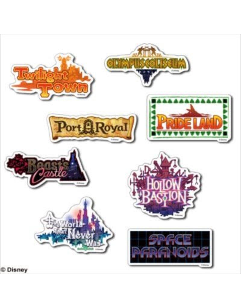 Square Enix Kingdom Hearts II World Sticker Set
