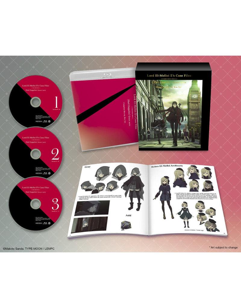 Aniplex of America Inc Lord El-Melloi II's Case Files [Rail Zeppelin] Grace note Box Set Blu-ray