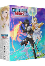 Funimation Entertainment Cautious Hero The Hero is Overpowered but Overly Cautious Limited Edition Blu-ray/DVD