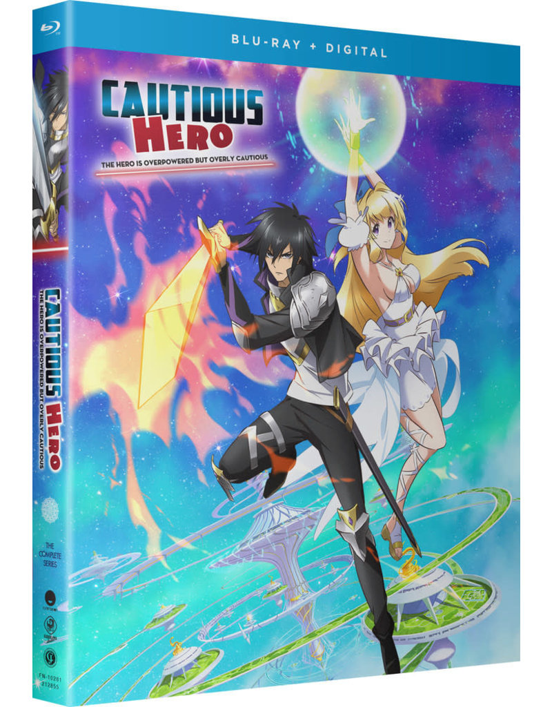 Funimation Entertainment Cautious Hero The Hero is Overpowered but Overly Cautious Blu-ray/DVD