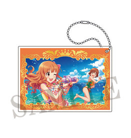 Movic Idolm@ster Cinderella Girls Dash Shop Acrylic Keychain Passion