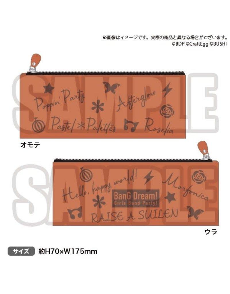 Bushiroad BanG Dream 2020 Leather Pen Case