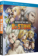 Funimation Entertainment Dr. STONE Season 1 Part 2 Blu-ray/DVD