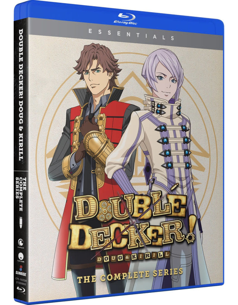 Funimation Entertainment Double Decker! Doug & Kirill + OVAs Essentials Blu-ray